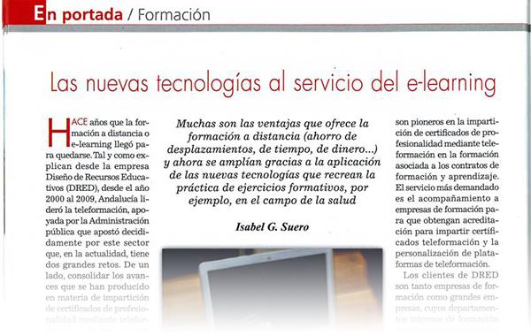 Las nuevas tecnologías al servicio del e-learning
